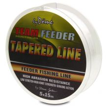 Fir Conic By Döme TEAM FEEDER Tapered Leader 5x15 m