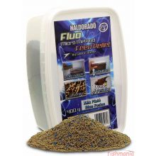 Haldorado - Fluo Micro Method Feed Pellet - Blue Fusion