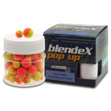 Haldorado BlendeX Pop Up Method Strawberry&Honey 8-10mm