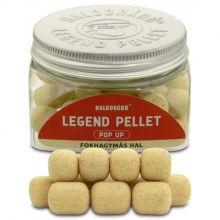Haldorado Legend Pellet Pop Up Garlic Fish12,16mm