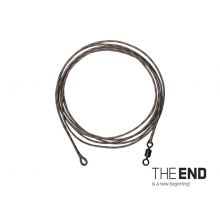 Montură THE END Leadcore + swivel / 3buc